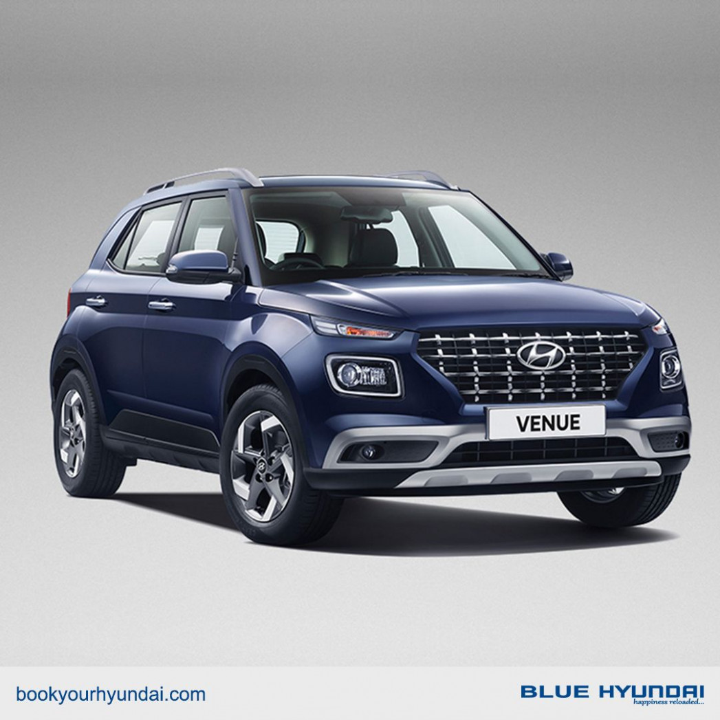 Get ready to be connected with Hyundai VENUE, India's First ...
