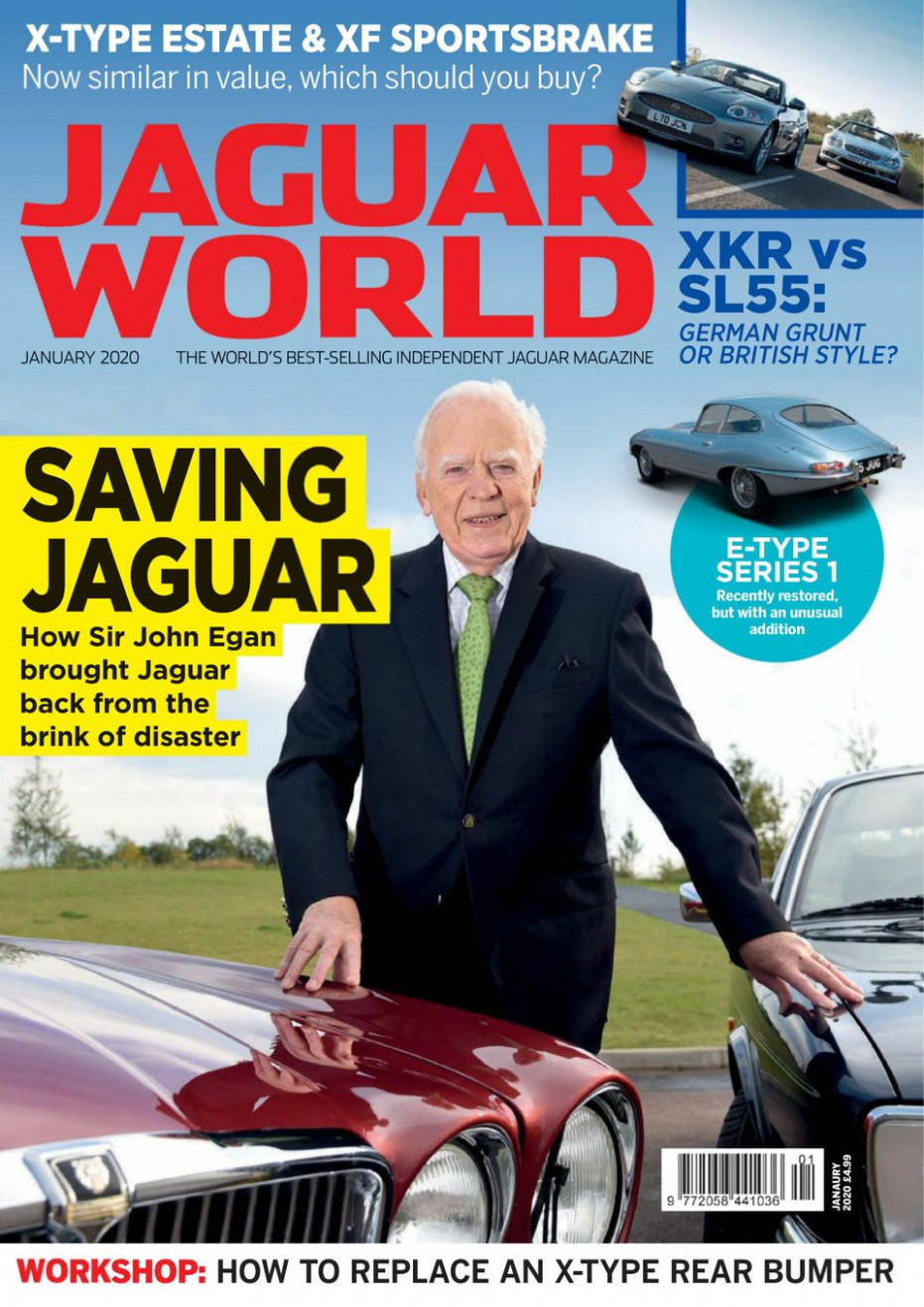 Get your digital copy of Jaguar World Monthly-January 8 issue - jaguar world january 2020