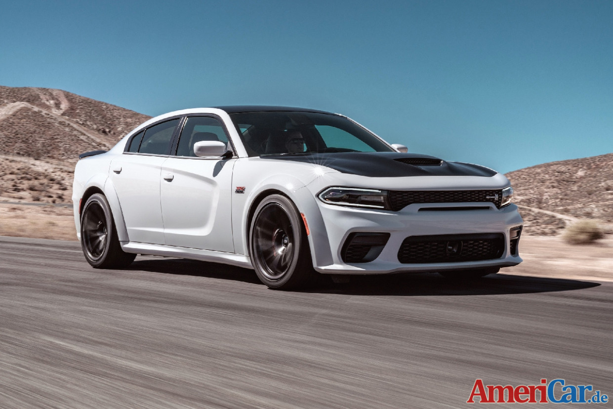 High-performance Sedan noch bulliger: 7 Dodge Charger SRT ..