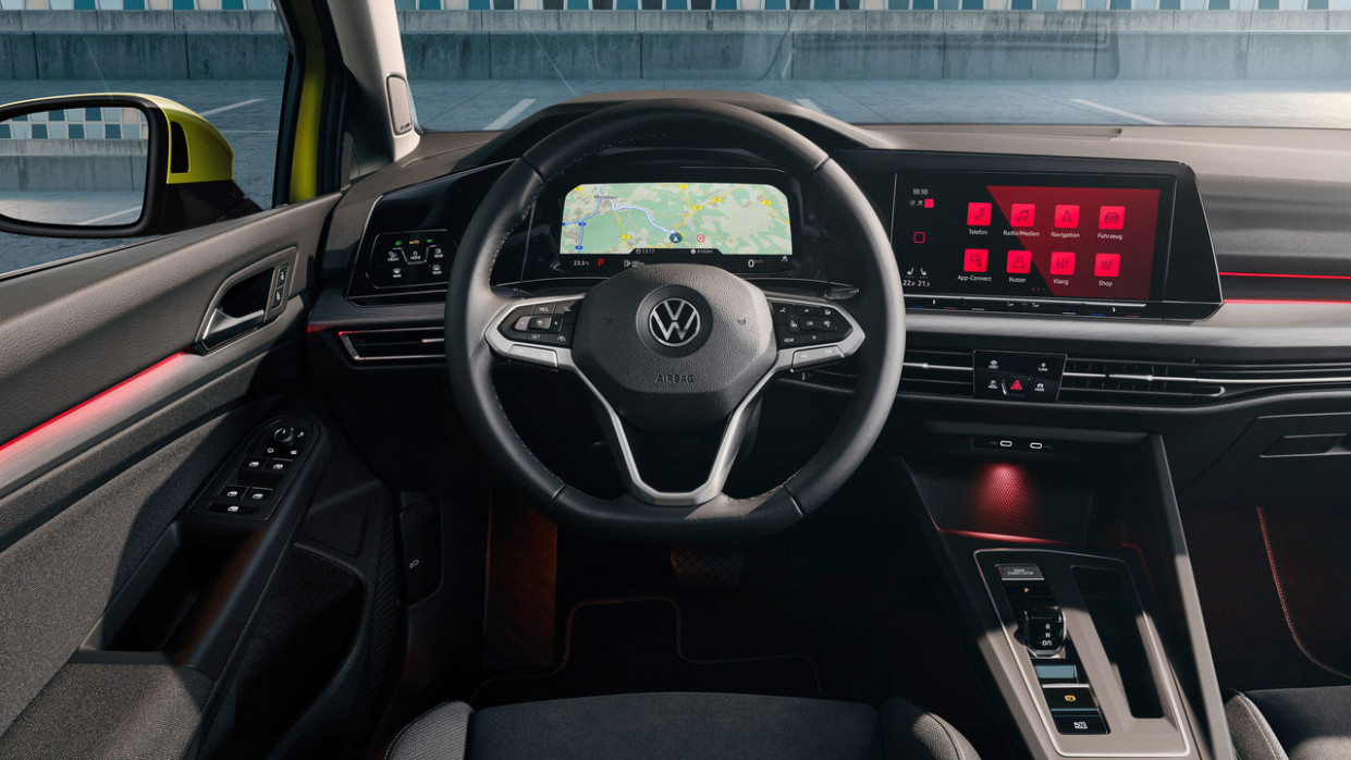 Highlight des neuen Golf: Das digitale Cockpit | Volkswagen Newsroom