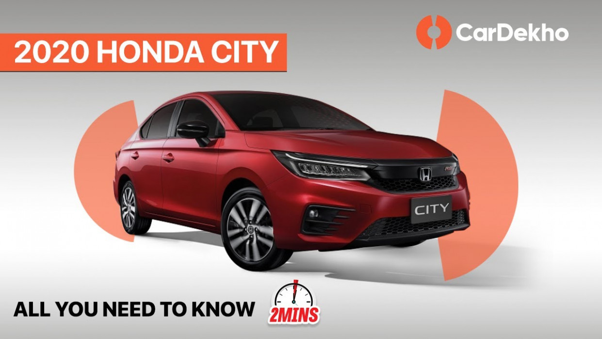 Honda CIty 6 Unveiled! | Price, Launch Date & more | #in6mins - 2020 honda brochures
