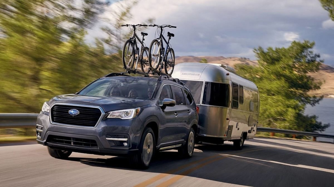 How New 6 Subaru Ascent Will Work Hard Towing Your Small Camper ..