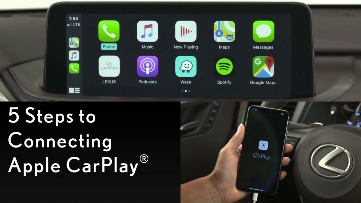 How-To Connect Apple CarPlay (8 Lexus RX) | Lexus - lexus apple carplay 2020