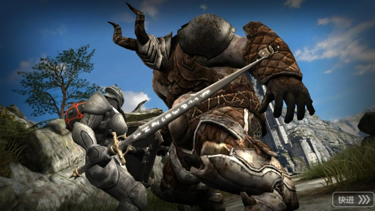 Infinity Blade Saga (CN) Gameplay IOS / Android / Xbox One