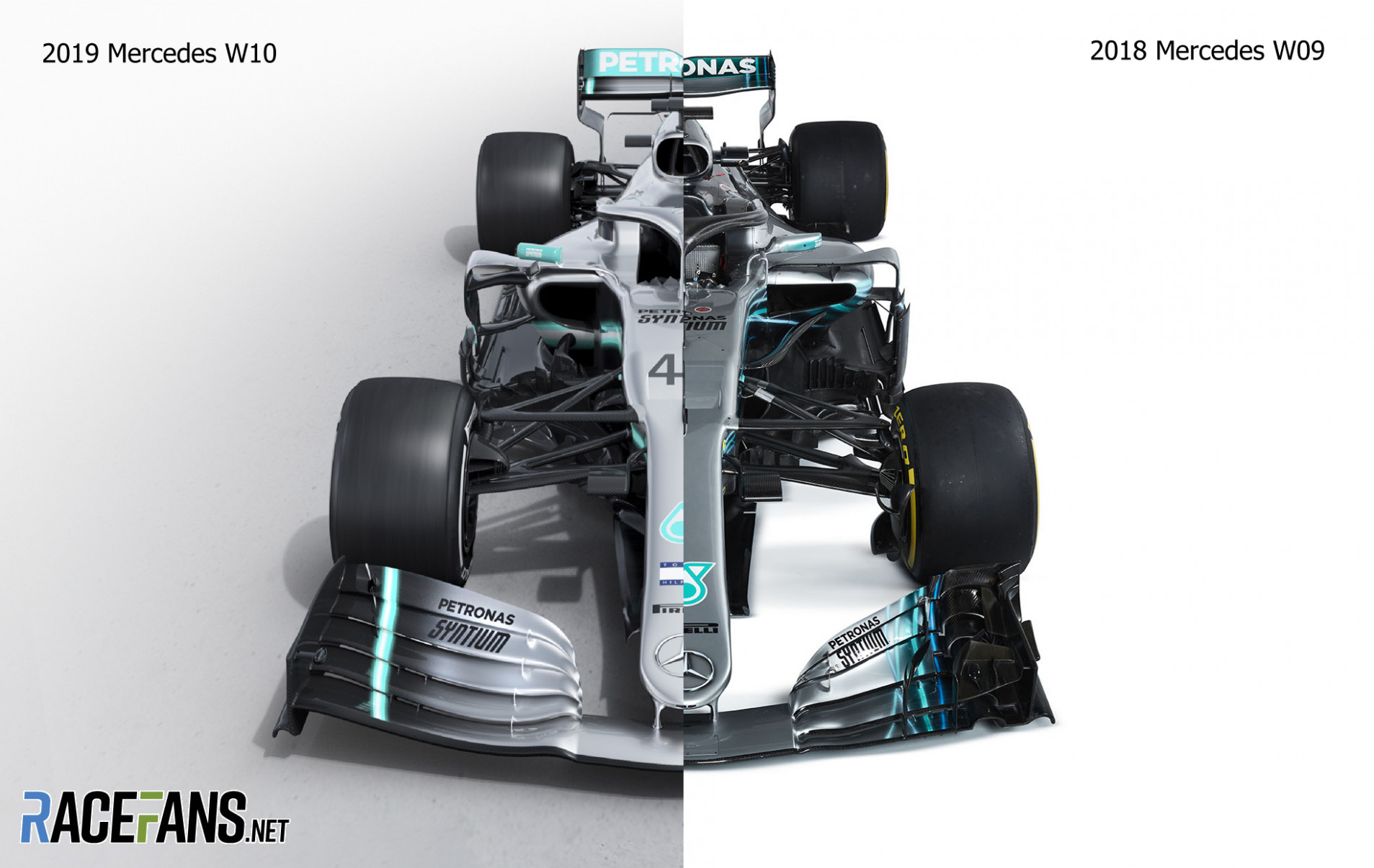 Interactive: Compare Mercedes' new W6 and last year's car - RaceFans