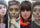 Iranian Angelina Jolie 'lookalike' reveals her real face | Daily ...