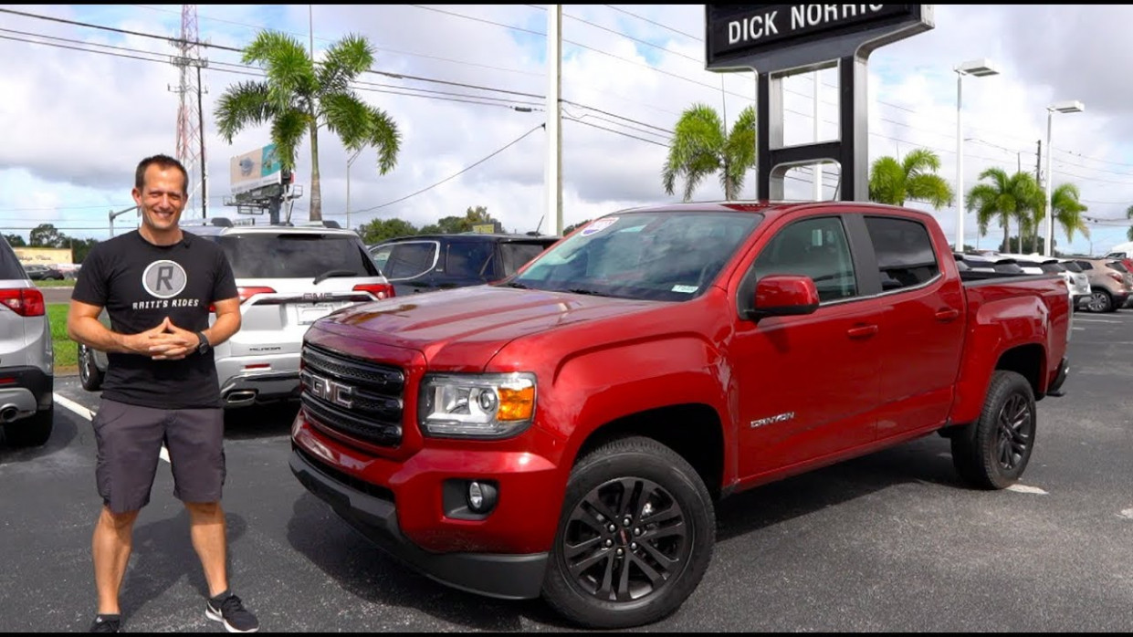 Is the 6 GMC Canyon a GOOD or GREAT midsize TRUCK? - 2020 gmc canyon