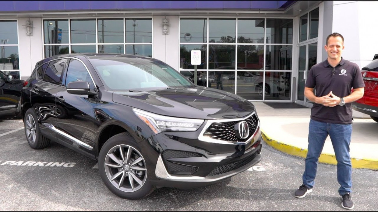 Is the 8 Acura RDX SH-AWD the PERFECT compact LUXURY SUV? - 2020 acura rdx advance youtube