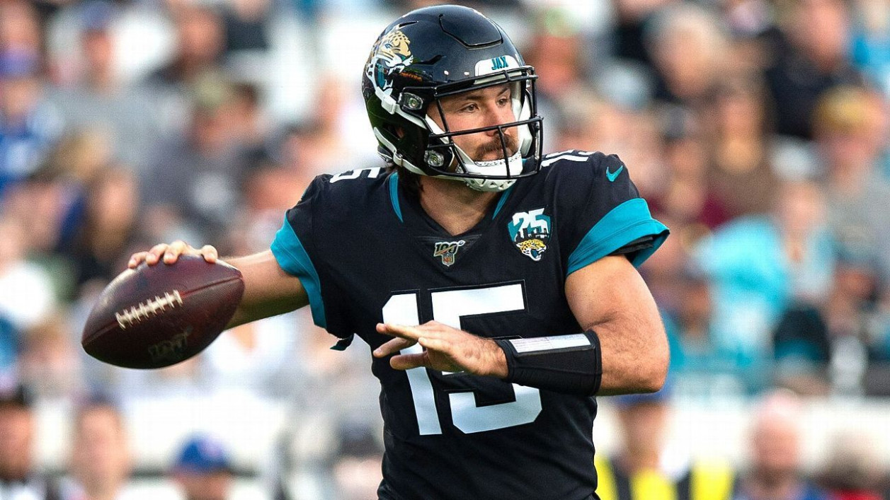 Jaguars riding with Gardner Minshew, but QB could be in their 8 ..