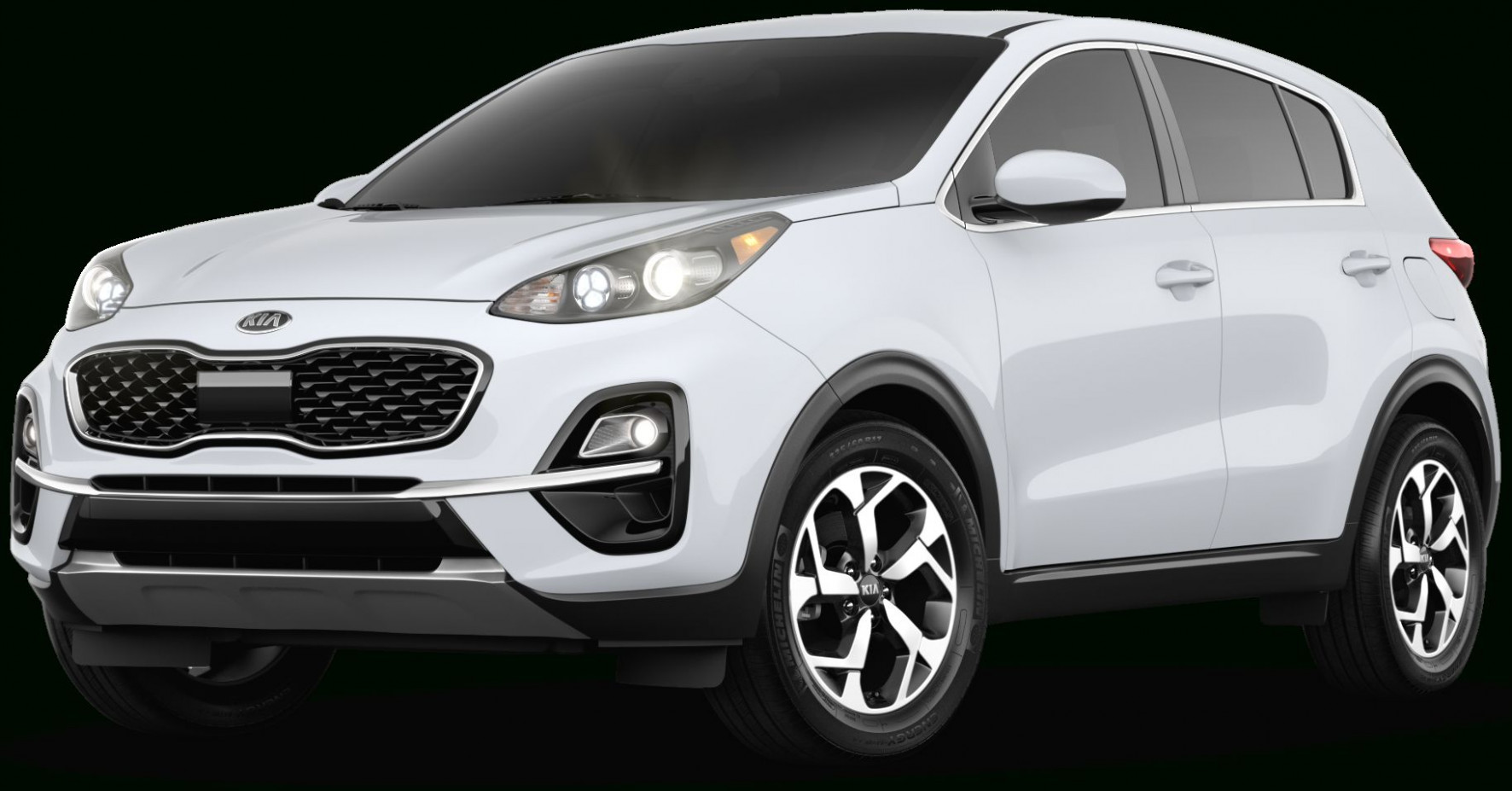 Kia Sportage 11 White Interior in 11 | Kia accessories, Kia ...