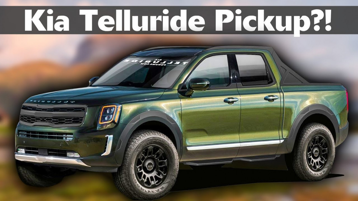 Kia Telluride Pickup Truck - Everything we know so far - And what it needs  to succeed in America - 2020 kia truck