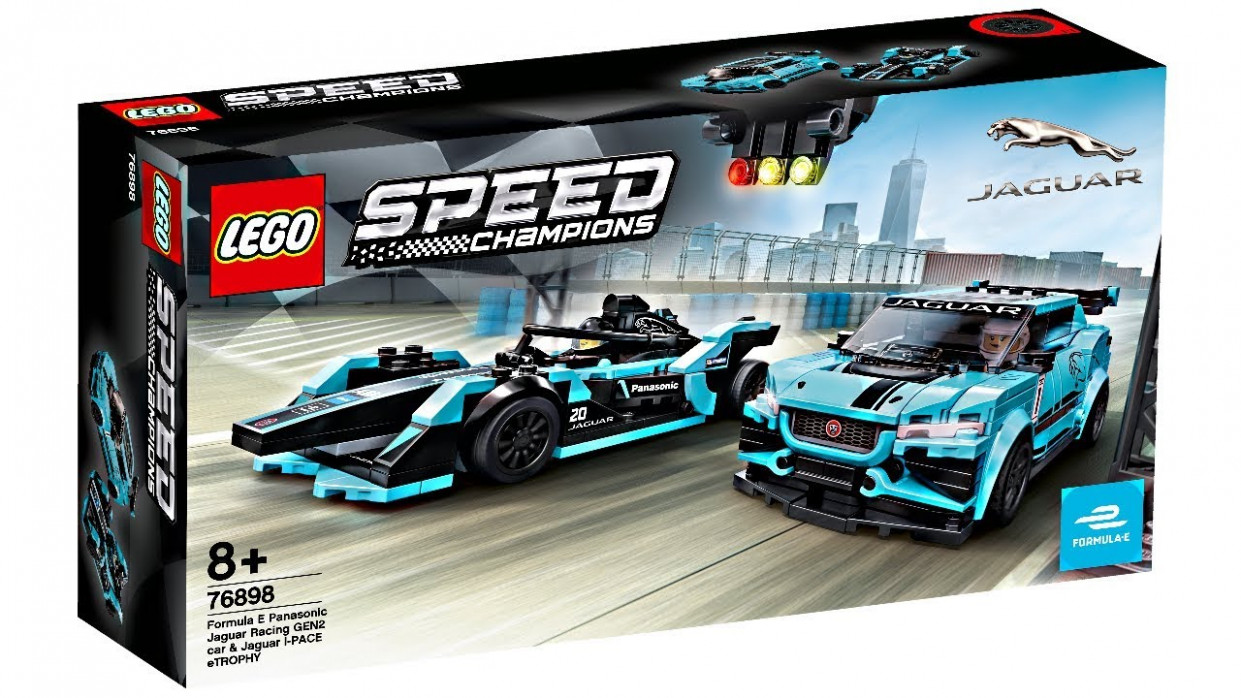 LEGO Speed Champions Jaguar 7 set - I like what's been happening!