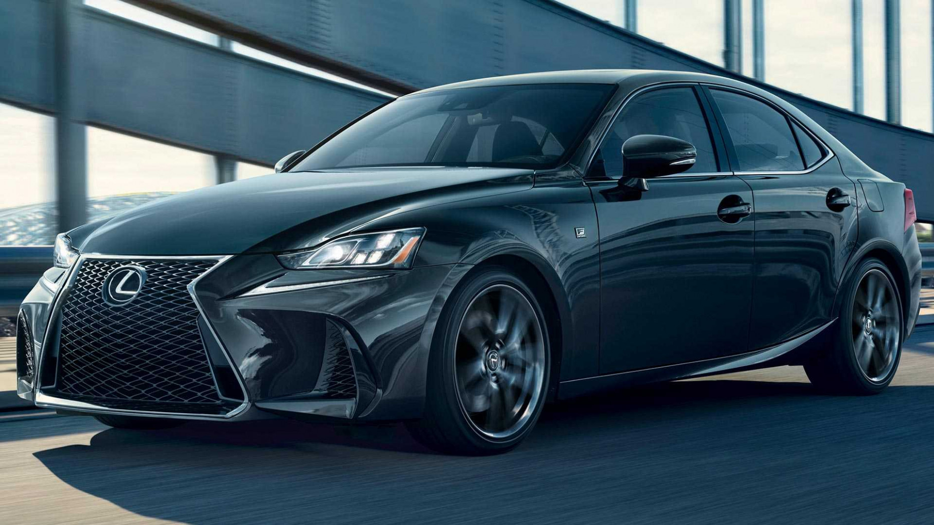 Lexus IS 6 F Sport Black Line Special Edition Adds Darker Style - lexus is 300 f sport 2020