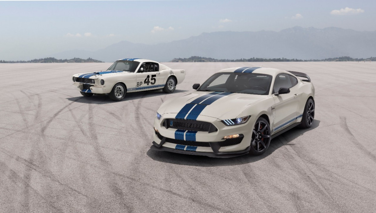 Limited-Edition SHELBY GT7, GT7R Heritage Edition Package ..