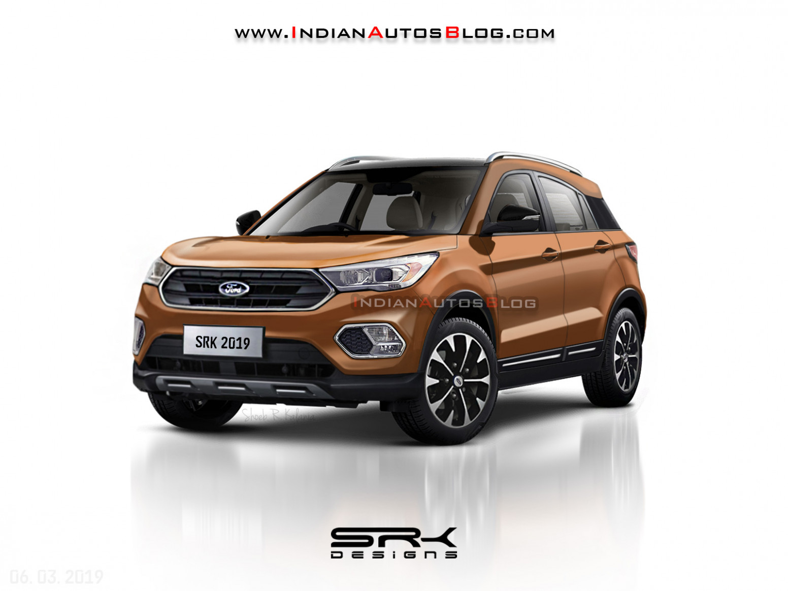 Made-for-India 6 Ford EcoSport - IAB Rendering - ford upcoming suv in india 2020