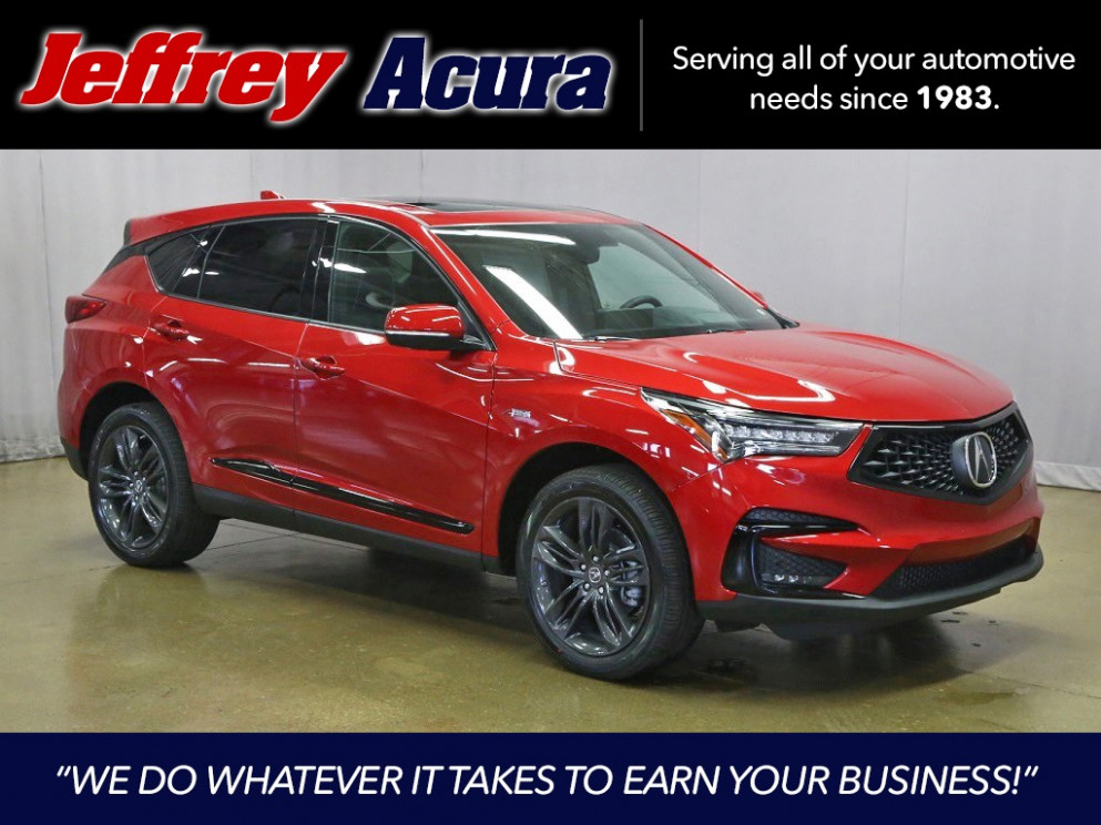 New 6 Acura RDX A-Spec Package With Navigation & AWD - acura rdx 2020 specs