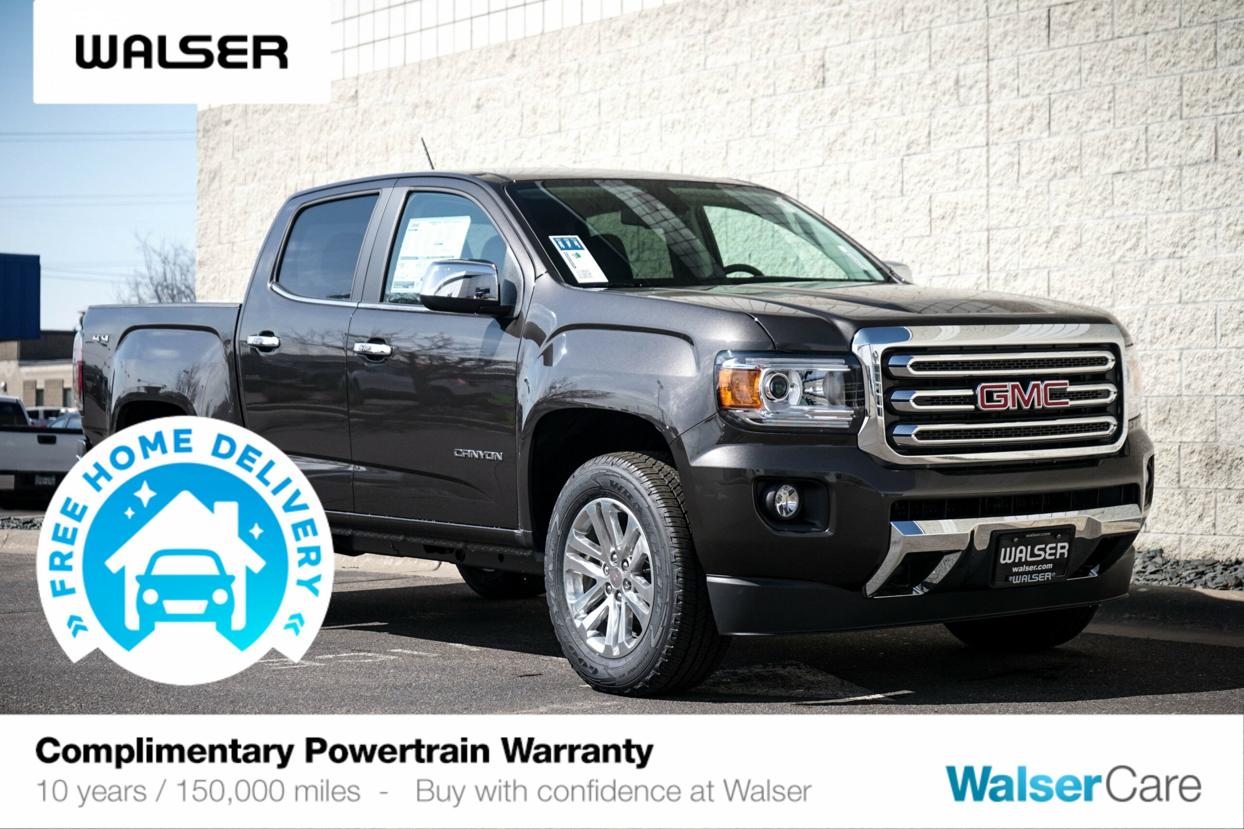 New 6 GMC Canyon 6WD SLT 6WD