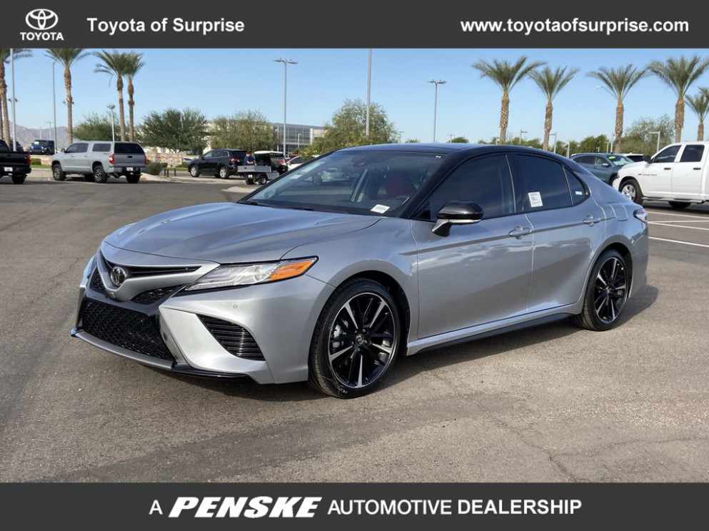 New 6 Toyota Camry XSE V6 Automatic Front Wheel Drive Sedan