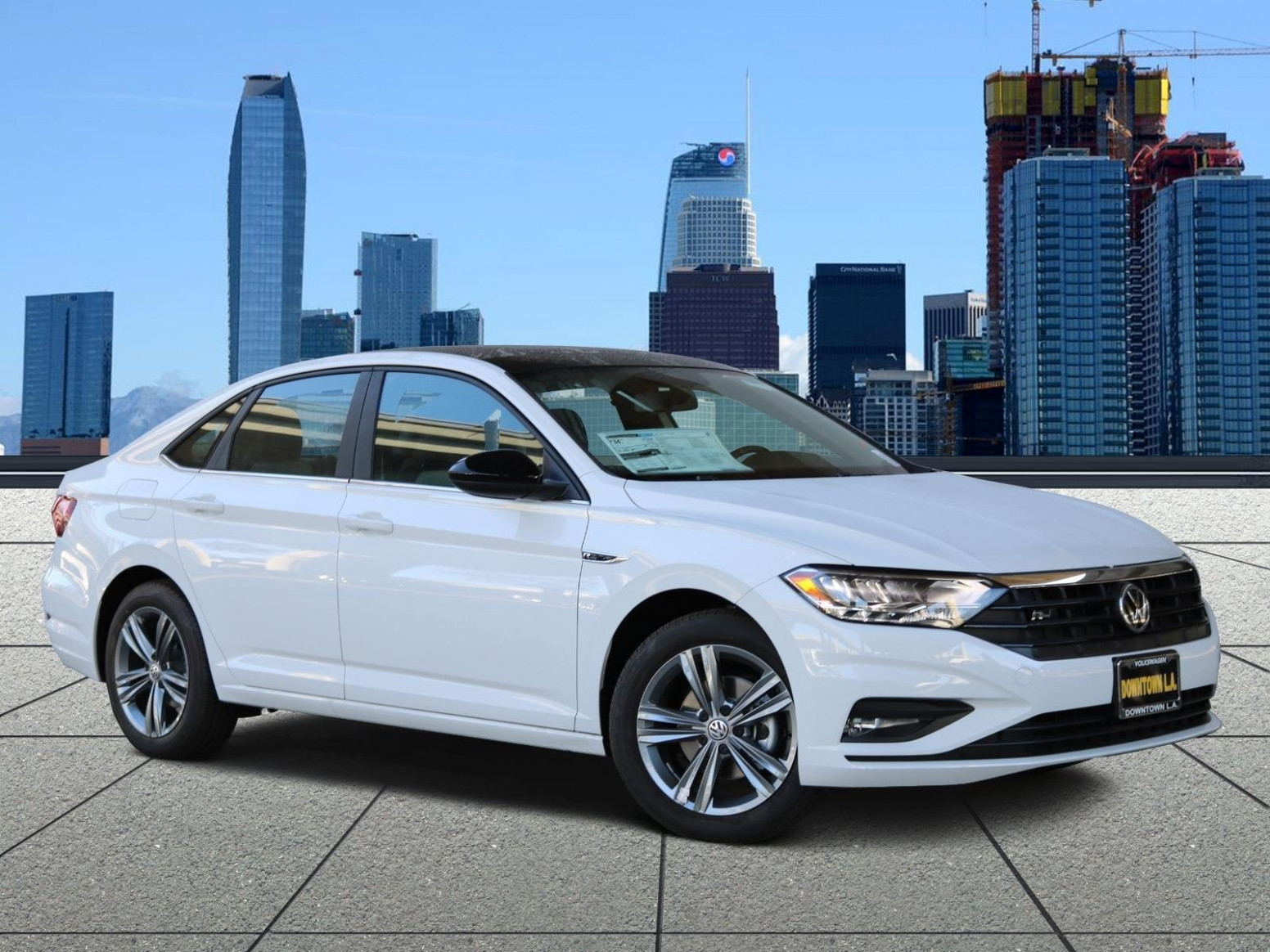 New 7 Volkswagen Jetta Sedan 7.7T R-Line w/ULEV Pure White ...
