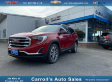 New 8 GMC Terrain AWD SLT in Red Quartz Tintcoat for sale in ...