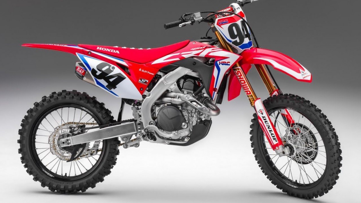 New 8 Honda Crf 8 Motocross Bike ! - YouTube - 2020 honda dirt bike models