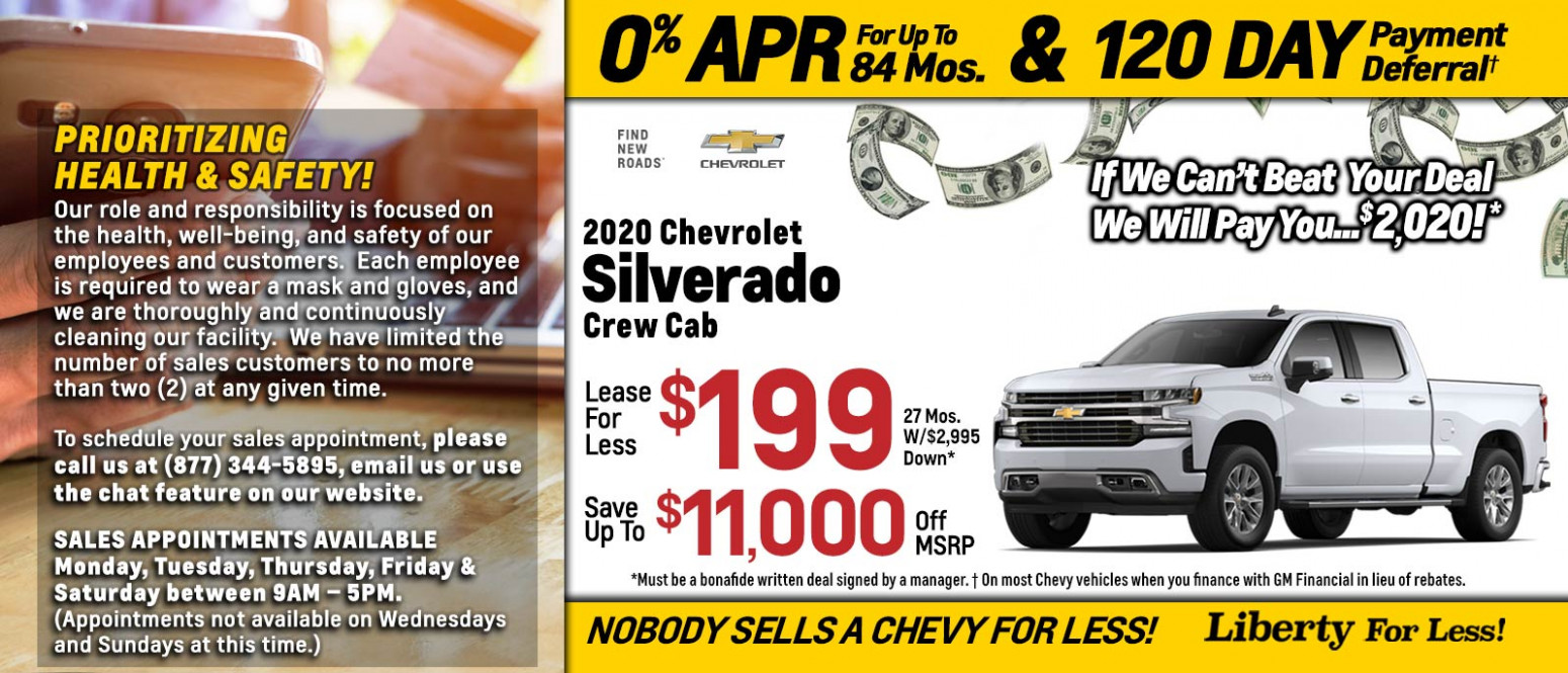 New Chevy Specials near Wakefield, MA | New Chevrolet Sales