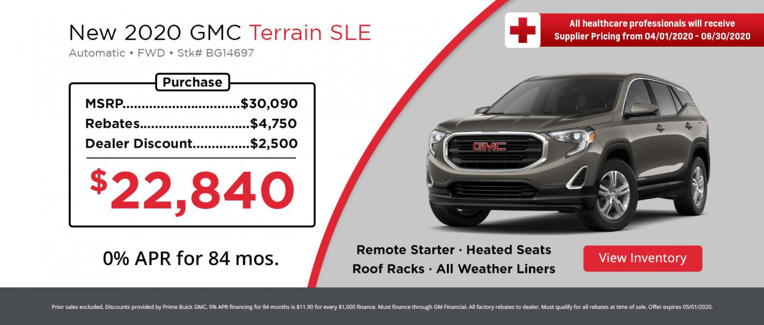 New GMC Specials - Hanover, MA | Prime Buick GMC