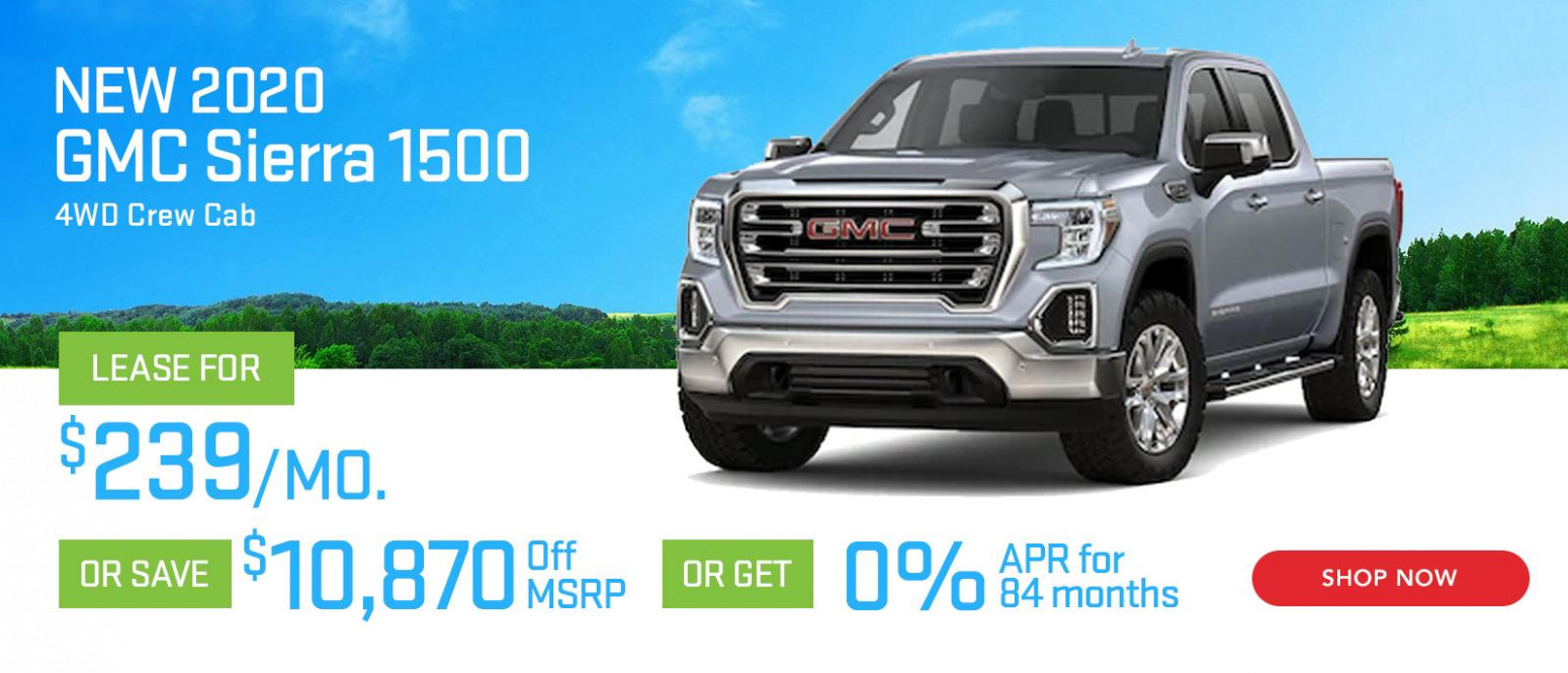 New GMC Vehicle Specials | Balise Lease & Finance Specials