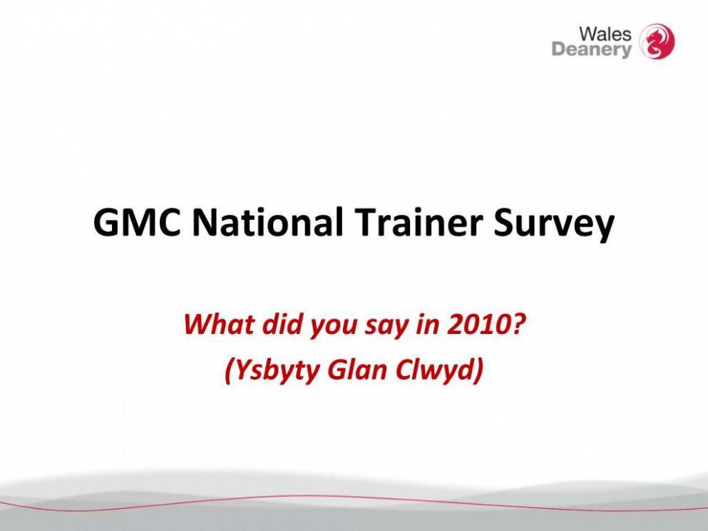 PPT - GMC National Trainer Survey PowerPoint Presentation, free ...