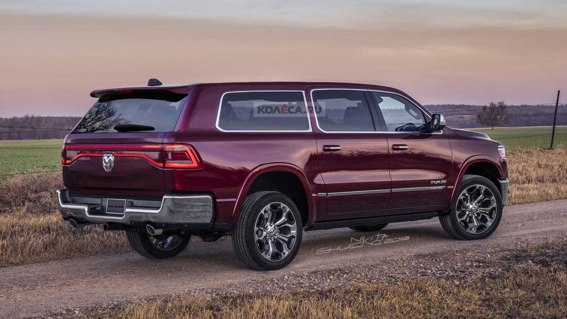 Ram SUV Fan Renderings Reveal A Handsome Full-Size People Mover - 2020 dodge full size suv