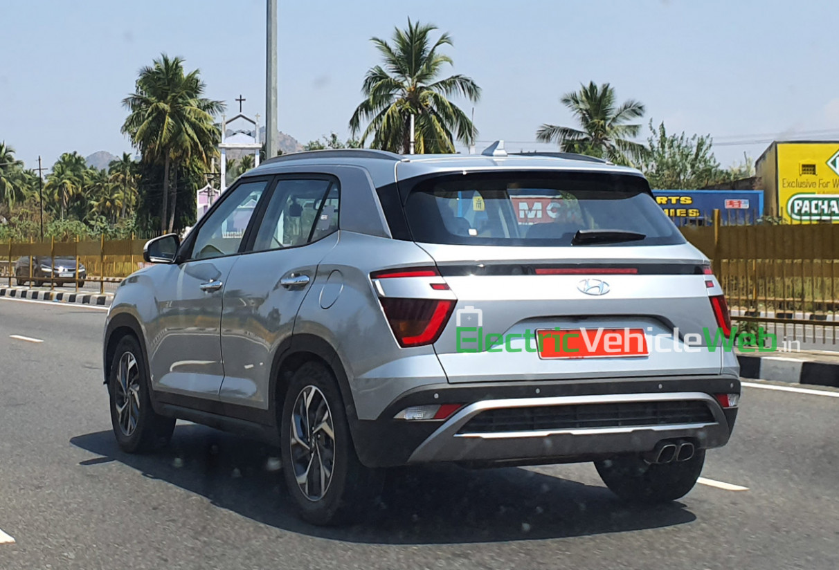 Second-gen Hyundai Creta spotted on final pre-launch tests
