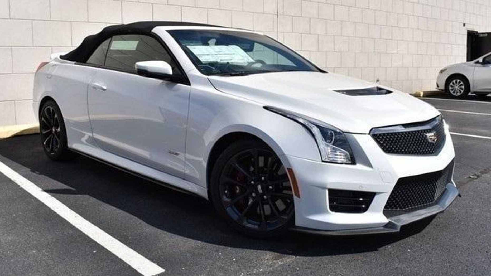 Someone Built A Cadillac ATS-V Convertible And Now It's For Sale