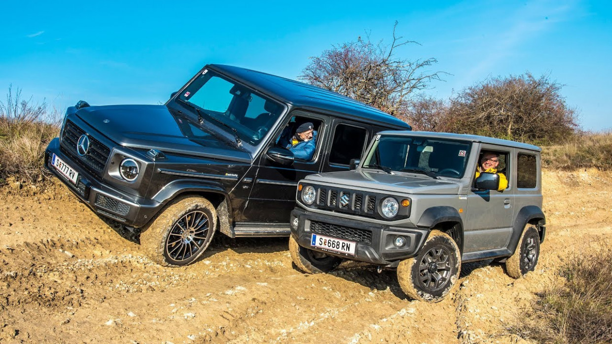 Test: Suzuki Jimny vs