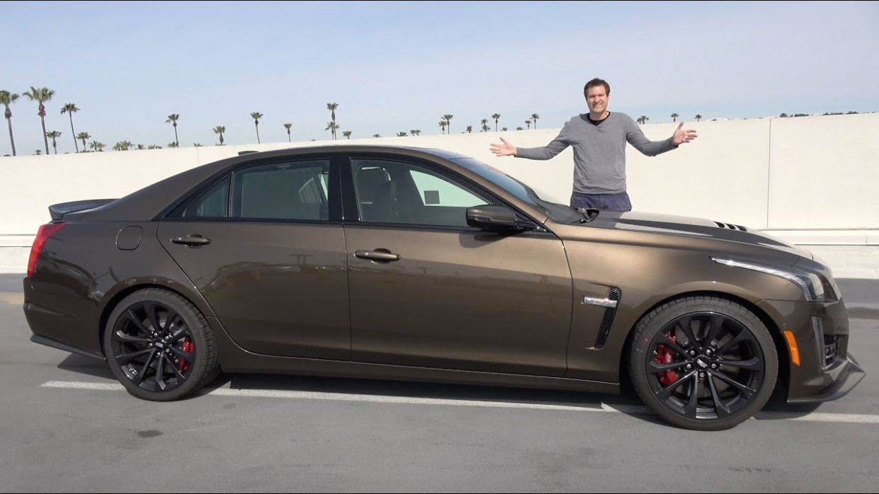 The 6 Cadillac CTS-V Is a Crazy Fast Luxury Sedan