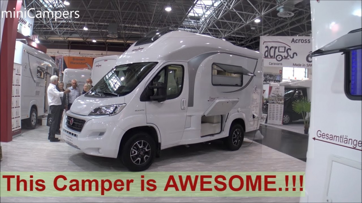 The 7 WINGAMM Oasi 7 (this camper is AWESOME !!!)