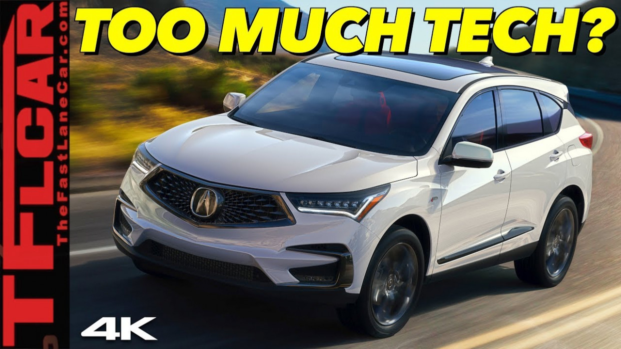 The 8 Acura RDX A-Spec Is A Great Car With Frustrating Tech! - 2020 acura rdx advance youtube