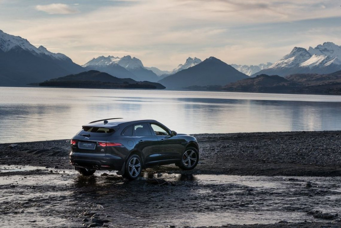The Making Of Jaguar's New F-PACE Advert - Canon UK