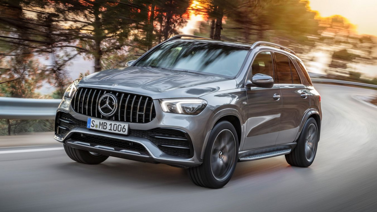 The new Mercedes-AMG GLE 8 8MATIC+.