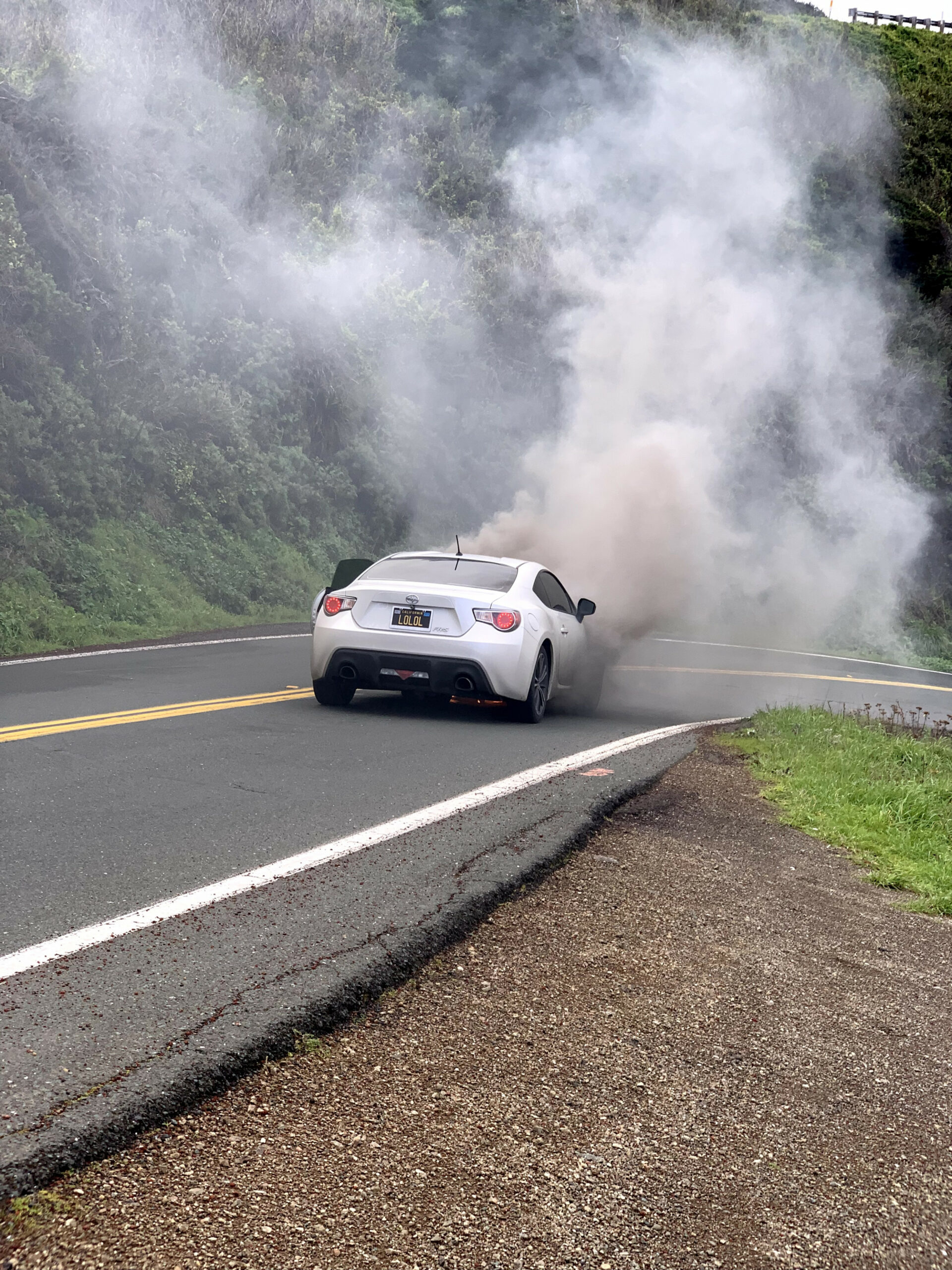 This Scion FR-S Went Up in Flames After Doing the Valve Spring ..