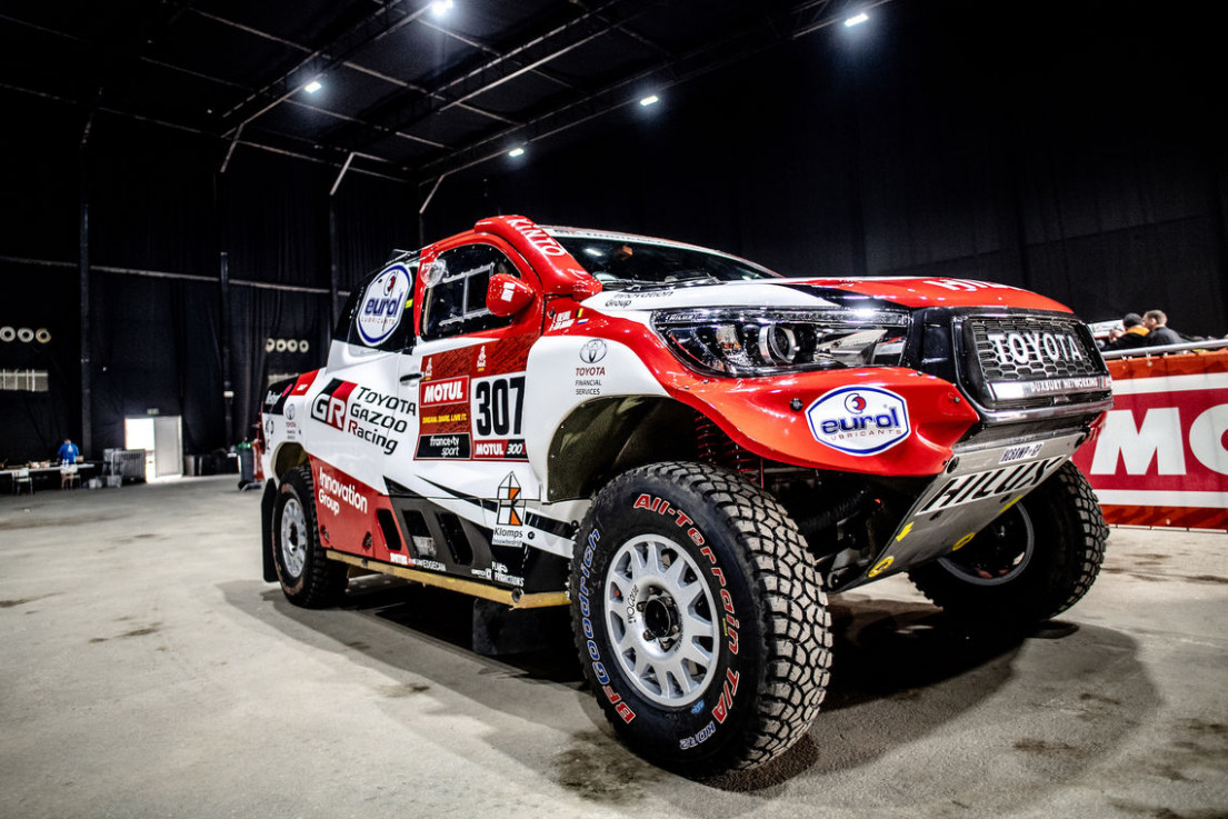 TOYOTA GAZOO RACING CLEARED TO START DAKAR 8 | TOYOTA GAZOO ...