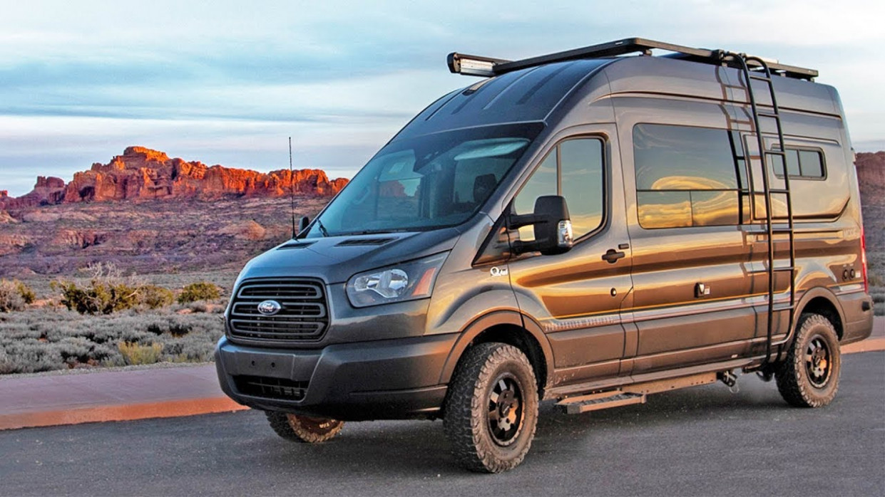 Ultimate 6x6 Ford Transit Camper Van Tour | Storyteller Overland Mode 6x6 - 2020 ford van 4x4