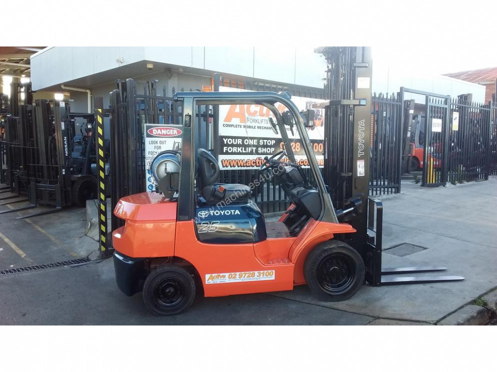 Used Toyota 7FG7 Counterbalance Forklifts in , <7> - Listed on  Machines7u