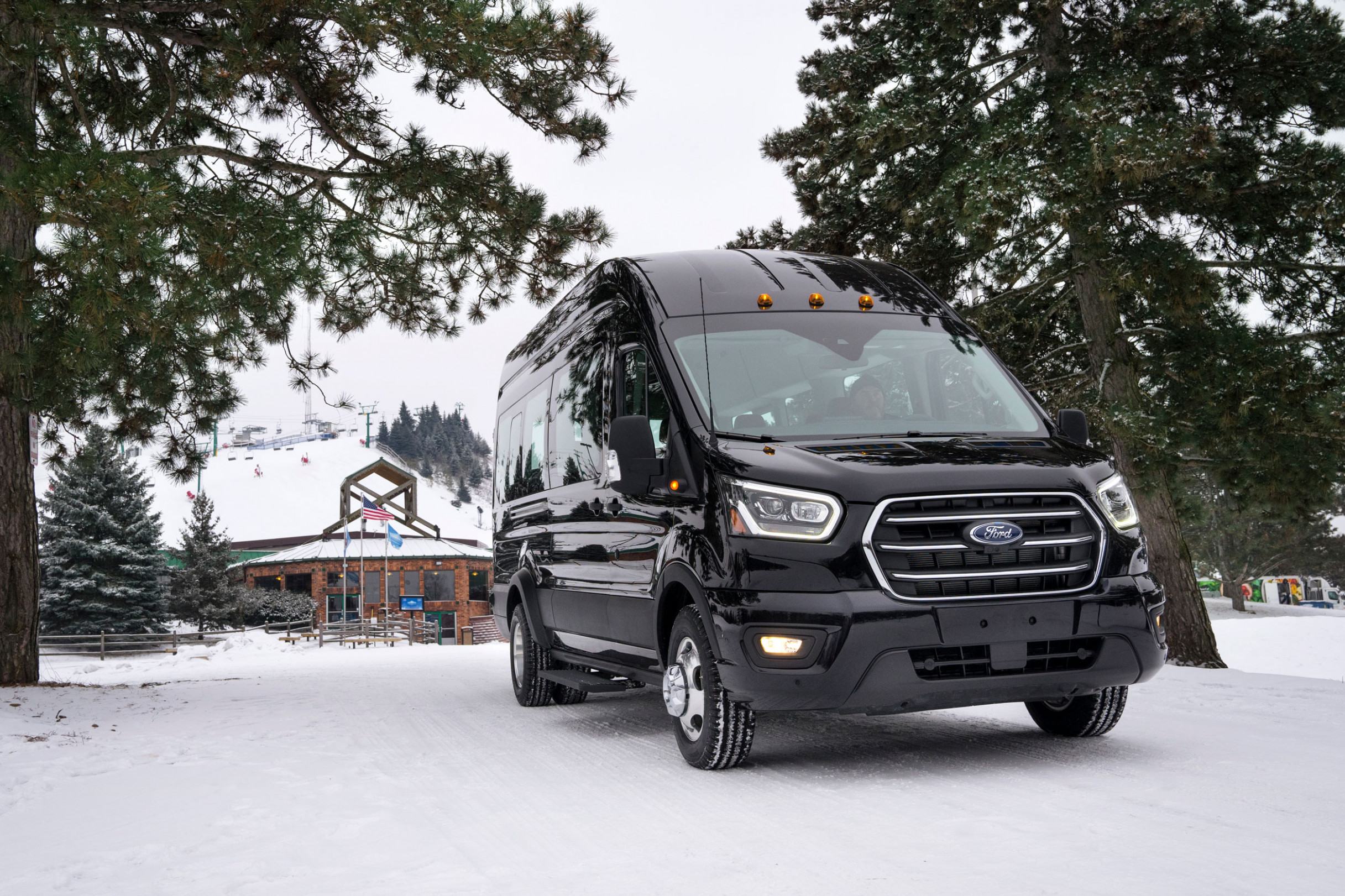 Van Life Wars Heat Up: Ford Finally Launches AWD Transit Van ..