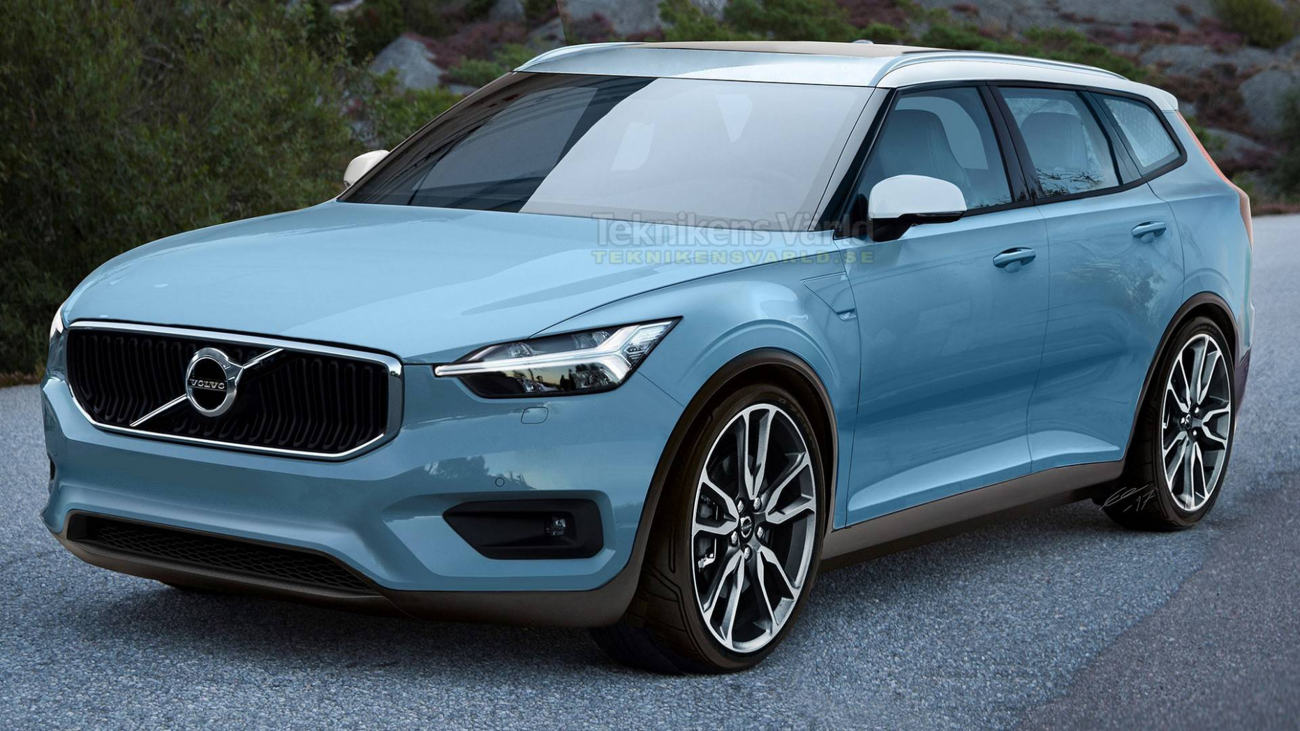 Volvo V7 Render Will Make You Fall In Love With Wagons Instantly - 2020 volvo estate
