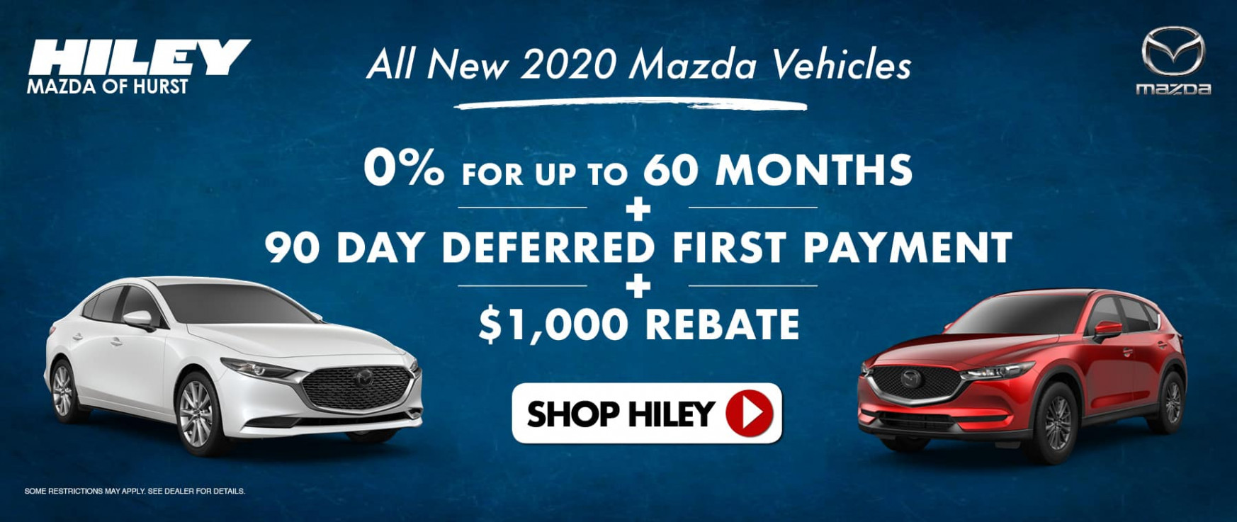 Welcome | Hiley Mazda of Hurst