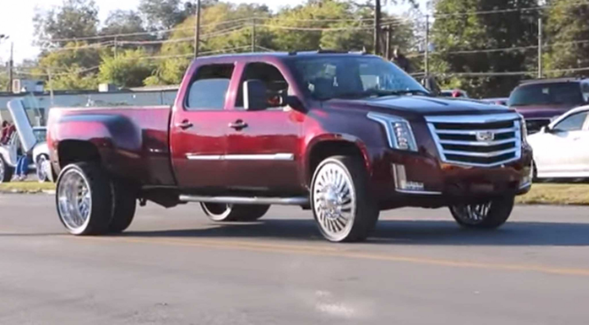 Worlds First Cadillac Escalade Dually on 7s! – Speed Society