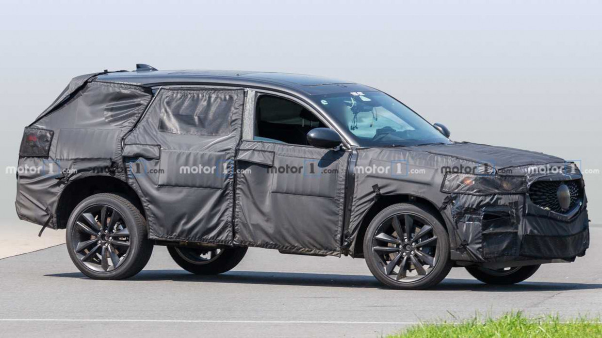 6 Acura MDX Type-S Spied Showing Its Grille And Not Much Else - 2020 acura grill