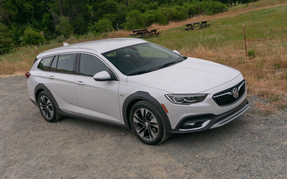 6 Buick Regal TourX reviews, news, pictures, and video - Roadshow - 2020 acura station wagon