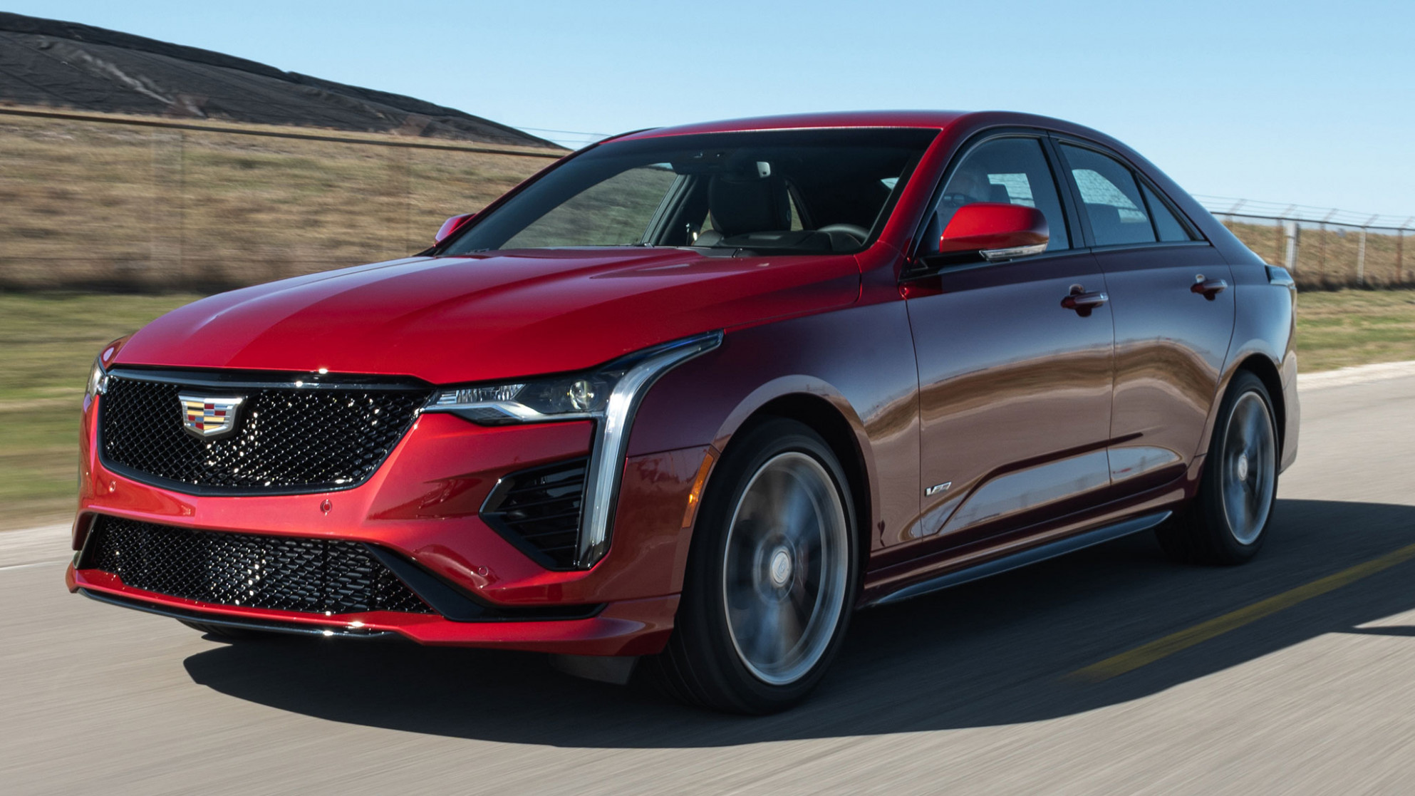 6 Cadillac CT6-V AWD First Test: The Caddy That Vigs - cadillac ct4 2020