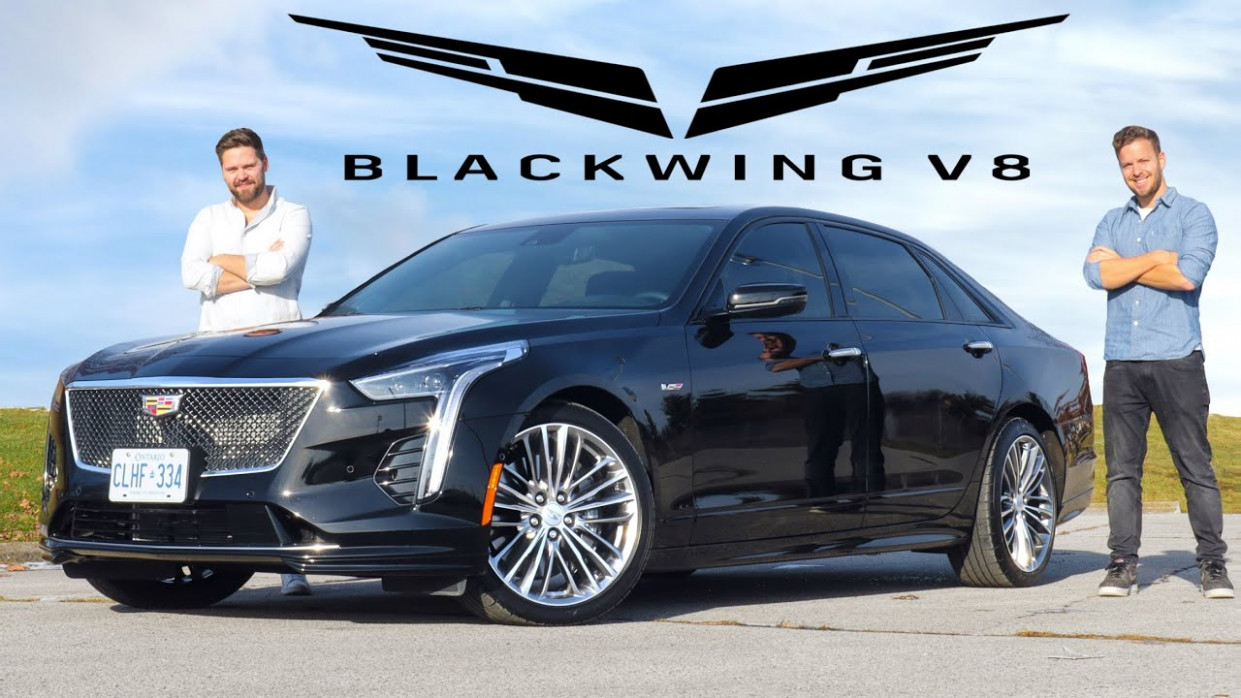 6 Cadillac CT6-V Blackwing V6 Review // The $6,6 Unicorn ..